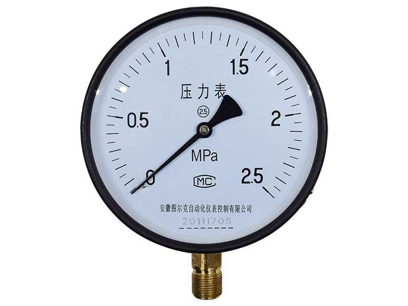 Y-60,压力表,普通压力表