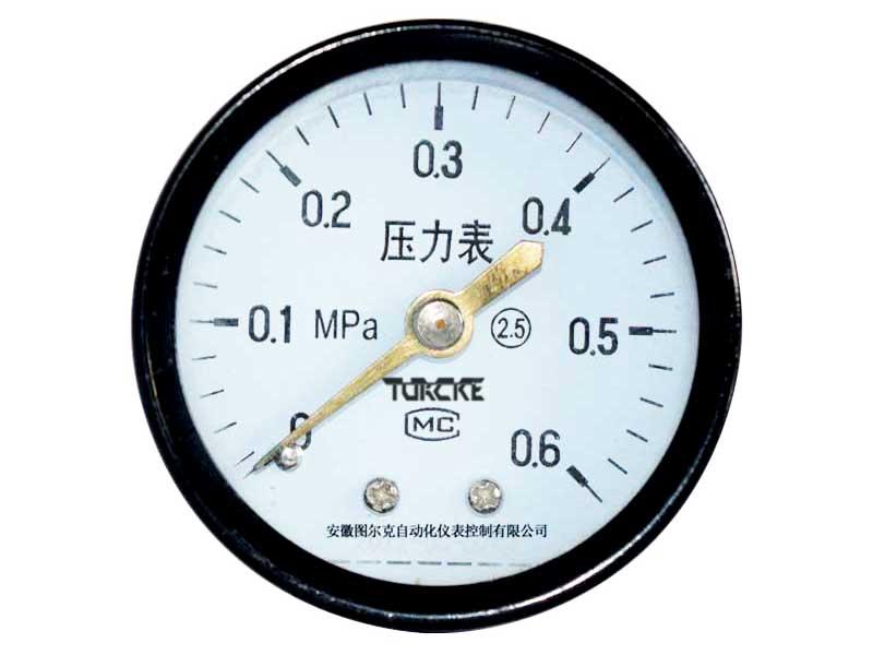 Y-60Z轴向普通压力表