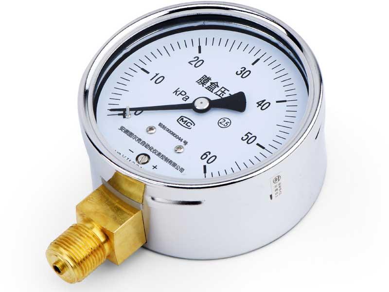 空压机的压力表你懂多少?
